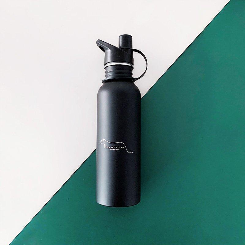 black stainless steel bottle 12